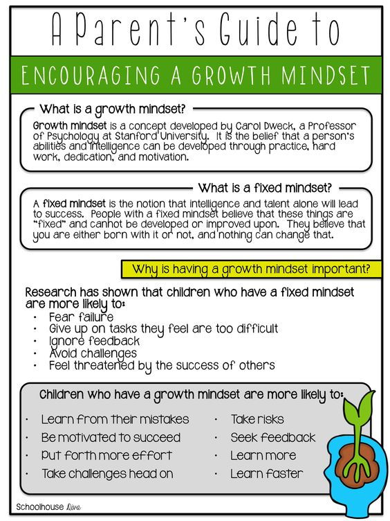 growth minset letter
